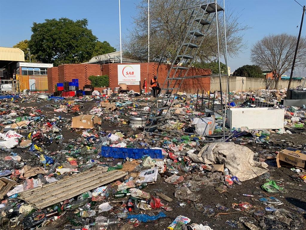 SAB premises in Pietermaritzburg.
