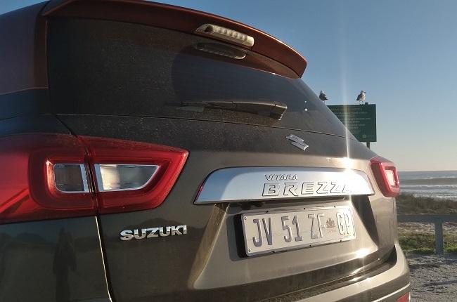 2021 Suzuki Vitara Brezza GLX bootlid