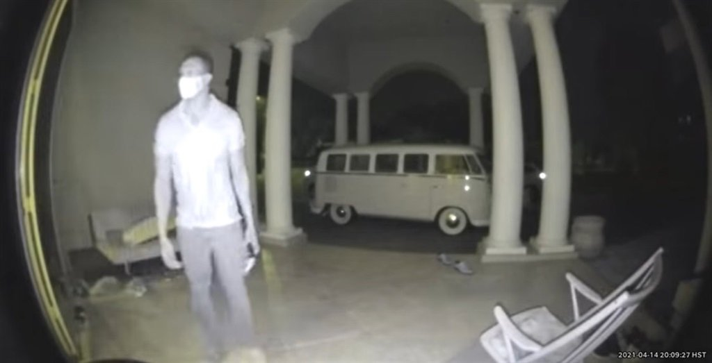 New footage as emerged of the night Lindani Myeni was killed by police in Hawaii in April.