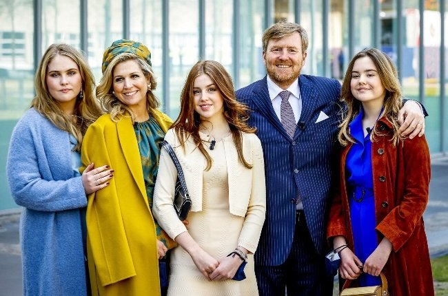 King Willem-Alexander and Queen Maxima have three daughters, (from left) Princess Catharina-Amalia, Princess Alexia and Princess Ariane. (PHOTO: Gallo Images / Getty Images)