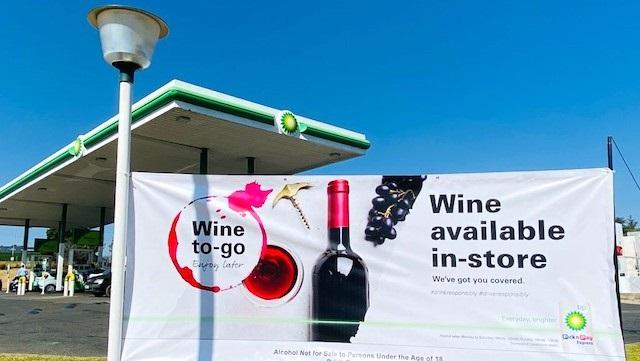 BP sells wine