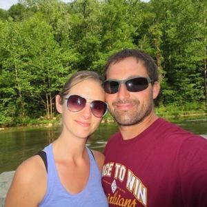 Kim Vaillancourt and her husband
