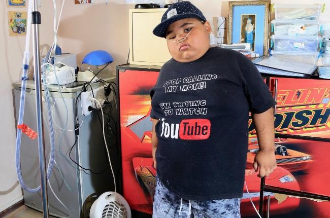 Travonne Rhoda suffers from a rare lung disease known as bronchiolitis obliterans. (PHOTO: Corrie Hansen)
