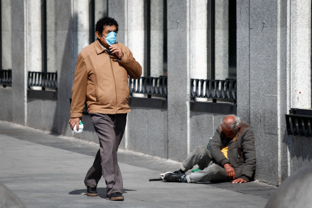 Are the homeless at risk of being left out during Covid-19 vaccination rollouts?