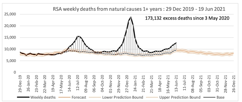 National excess deaths