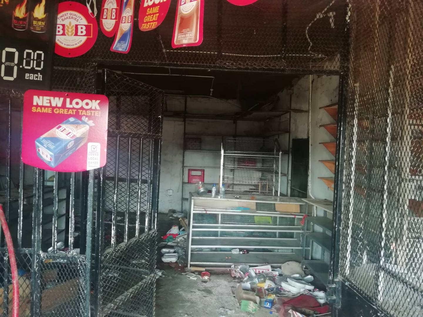 Protesters also looted businesses at Esikhaleni.