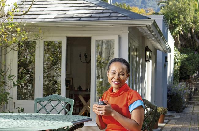 At home with Mamokgethi Phakeng.
