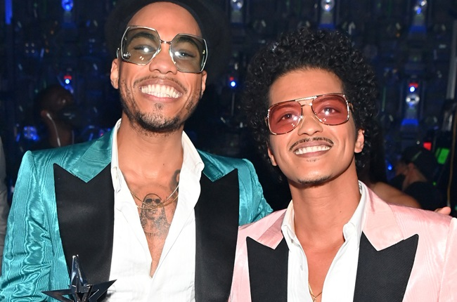 Anderson .Paak and Bruno Mars of Silk Sonic.