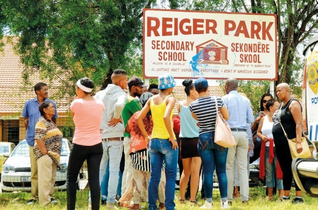 Reiger Park secondary principal accused of sleeping students and young staff in his office has been exposed by the community.
