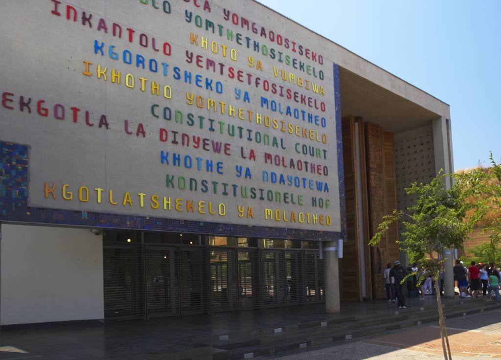 The Constitutional Court building.