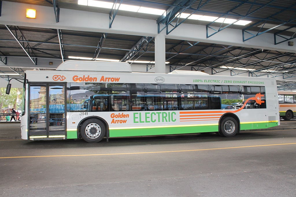 Electric bus South Africa
