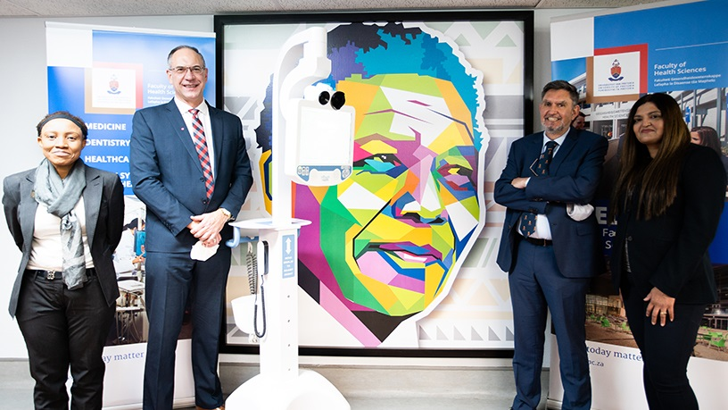 Steve Biko Academic Hospital has a new robot helping out in ICU