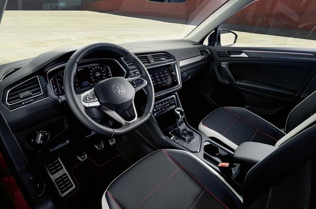 2021 VW Tiguan Urban Sport interior