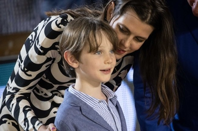 Charlotte Casiraghi attends the Longines Global Champions Tour Grand Prix of Monaco with son Raphaël Elmaleh. (PHOTO: magazinefeatures.co.za)