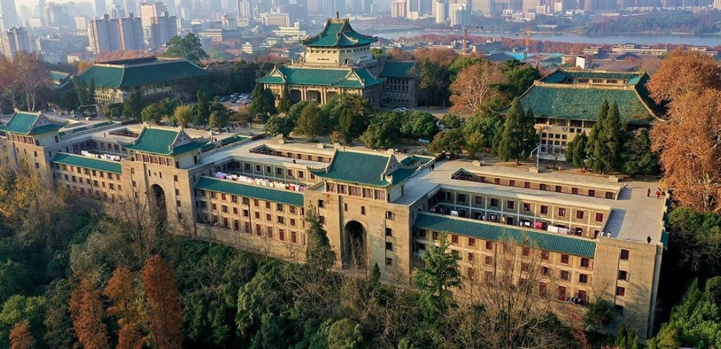 Some South African students studying at Wuhan University in Hubei province in China have not received their stipends for the past three months. Photo: Wuhan University/LinkedIn