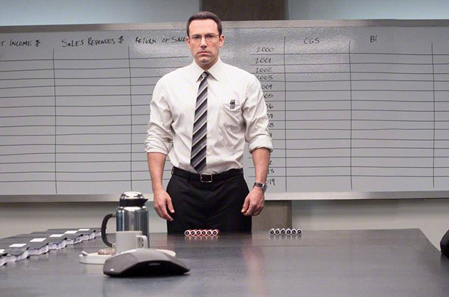 Ben Affleck in The Accountant.