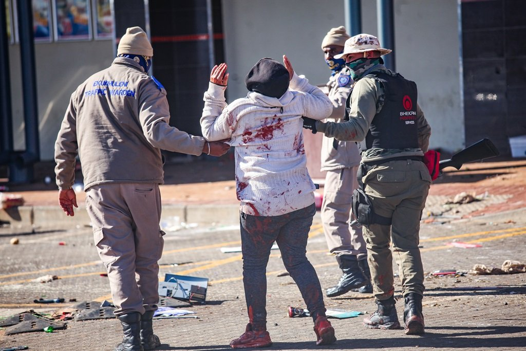 #UnrestSA: First court appearance for 46 alleged looters of Diepsloot Mall - News24
