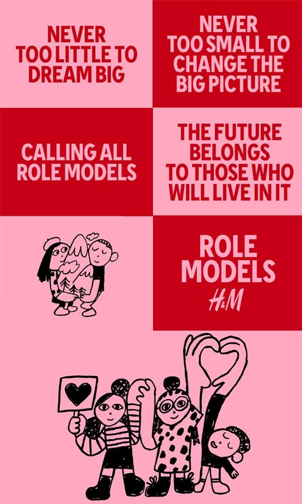 H&M Role Models graphics