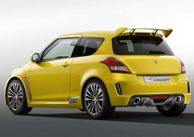 suzuki 39 s new swift sport shown wheels24. Black Bedroom Furniture Sets. Home Design Ideas