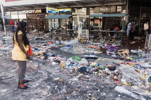 Several schools were vandalised when unrest broke out earlier this month in KwaZulu-Natal and parts of Gauteng.