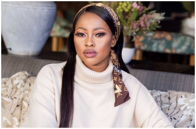 Omuhle Gela is one of the celebrities who participated in cleaning up campaigns.