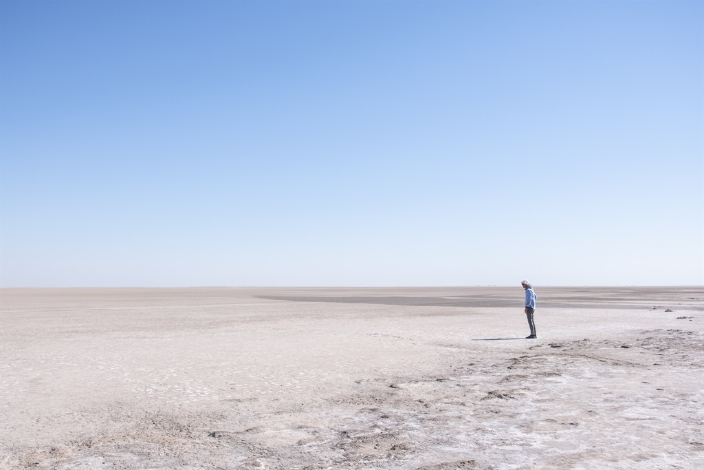 The moonscapes of the Makgadikgadi Pan. Photo: And