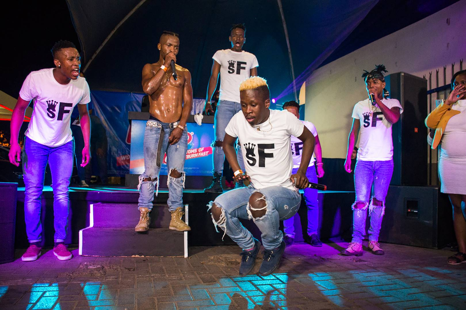 The dance crew claims to have been duped by NV Films and is seeking to take legal action. Photo: Supplied