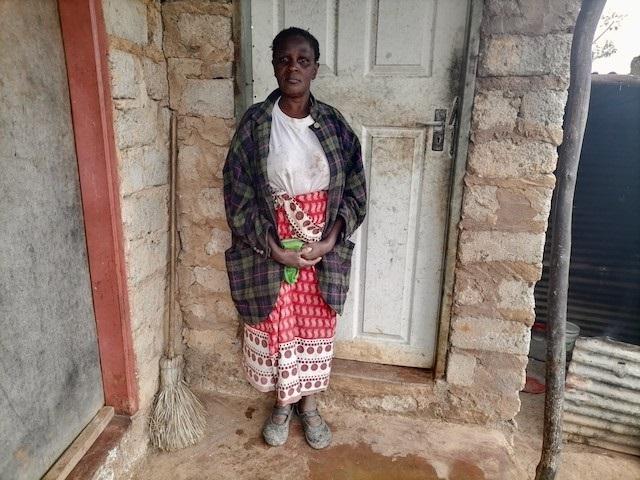 Bertinah Chauke, 59, is keen to be vaccinated agai