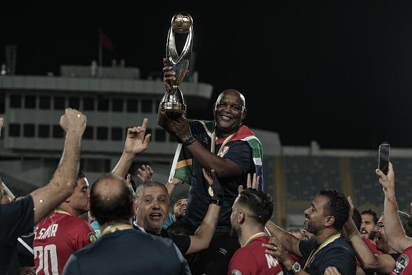 17 July 2021, Morocco, Casablanca: Al Ahly head co