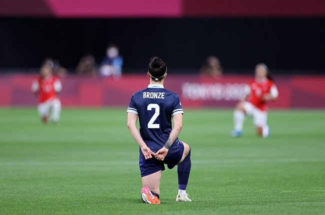 Lucy Bronze of Team Great Britain (Getty)