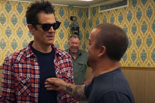 Johnny Knoxville in Jackass Forever.
