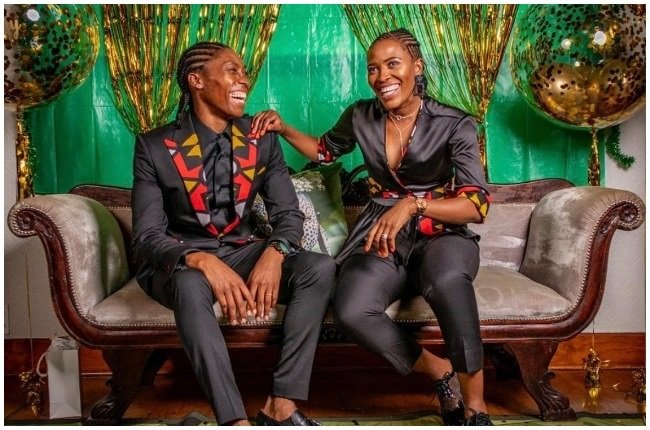 Caster Semenya and Violet are expecting their second child.
