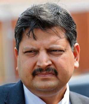 Atul Gupta and his nephew were appointed as advisers by former Lesotho prime minister Tom Thabane. PHOTO: Felix Dlangamandla