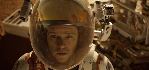 Matt Damon in The Martian (Twentieth Century Fox)
