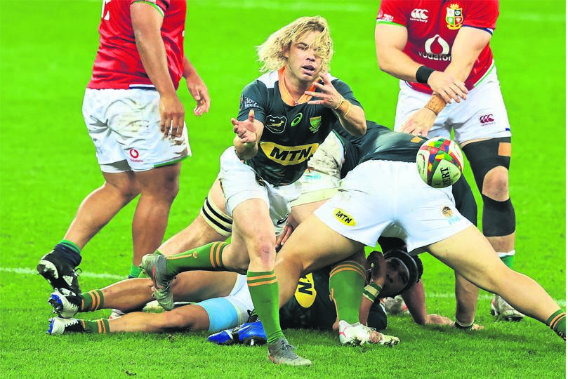 Lions coaching staff believe Springboks scrumhalf Faf de Klerk should have been red carded in their previous meeting with SA 'A'.