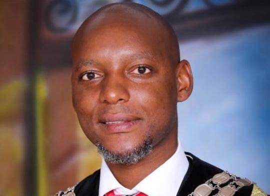 Newcastle Mayor, Ntuthukho Mahlaba, who is facing criminal charges.