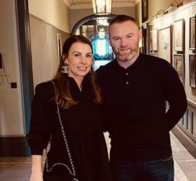 Coleen and Wayne celebrated heir 13th wedding anni