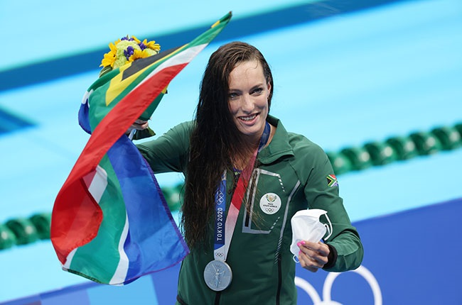 South African swimmer Tatjana Schoenmaker wins silver at the Tokyo Olympics