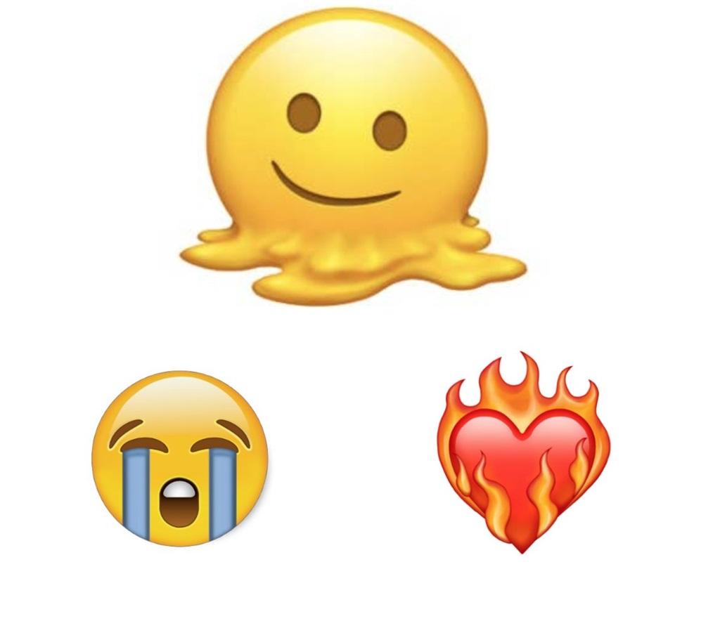 Van die wenners van 2021 se World Emoji Awards.
