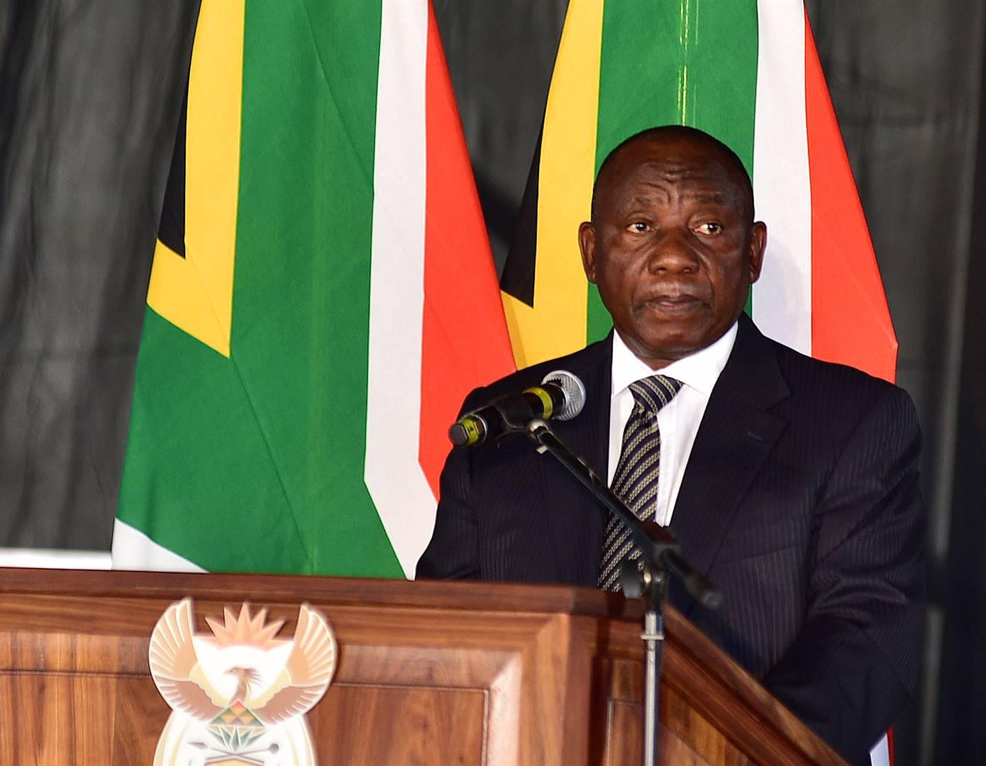 Pres. Cyril Ramaphosa Foto: Daily Sun