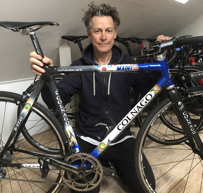 It is mostly a case of 'Colnago or nothing.' For Andrew. (Photo: R24)