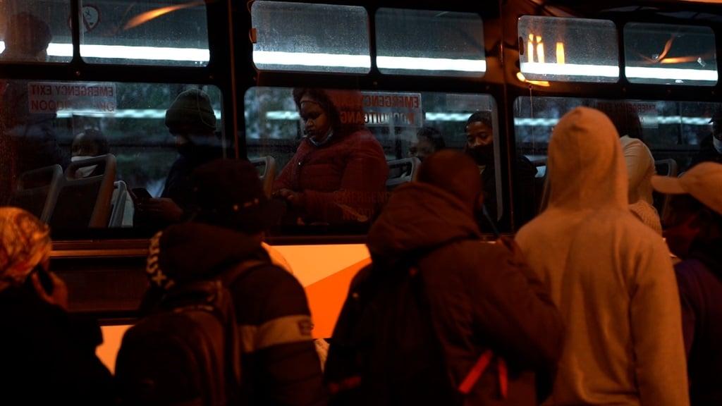 Cape Town bus terminus