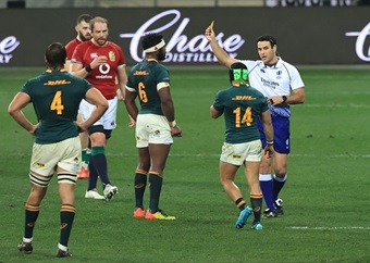 Kolbe yellow was the right call, insists Springbok coach Nienaber