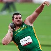Shot putter Kyle Blignaut makes SA history: 'Hopefully, I can do us proud'