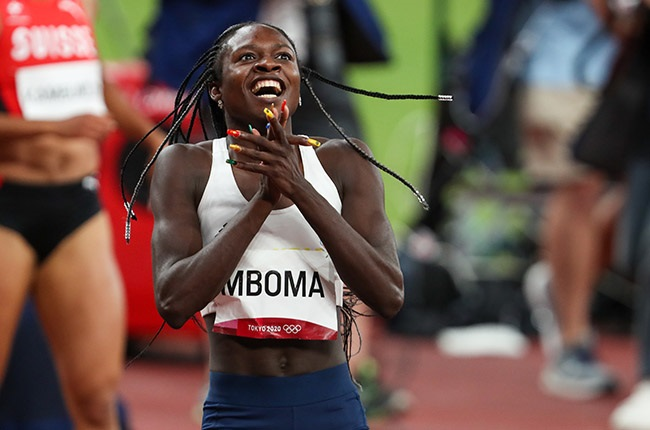 Christine Mboma. (Photo by Roger Sedres/Gallo Images)