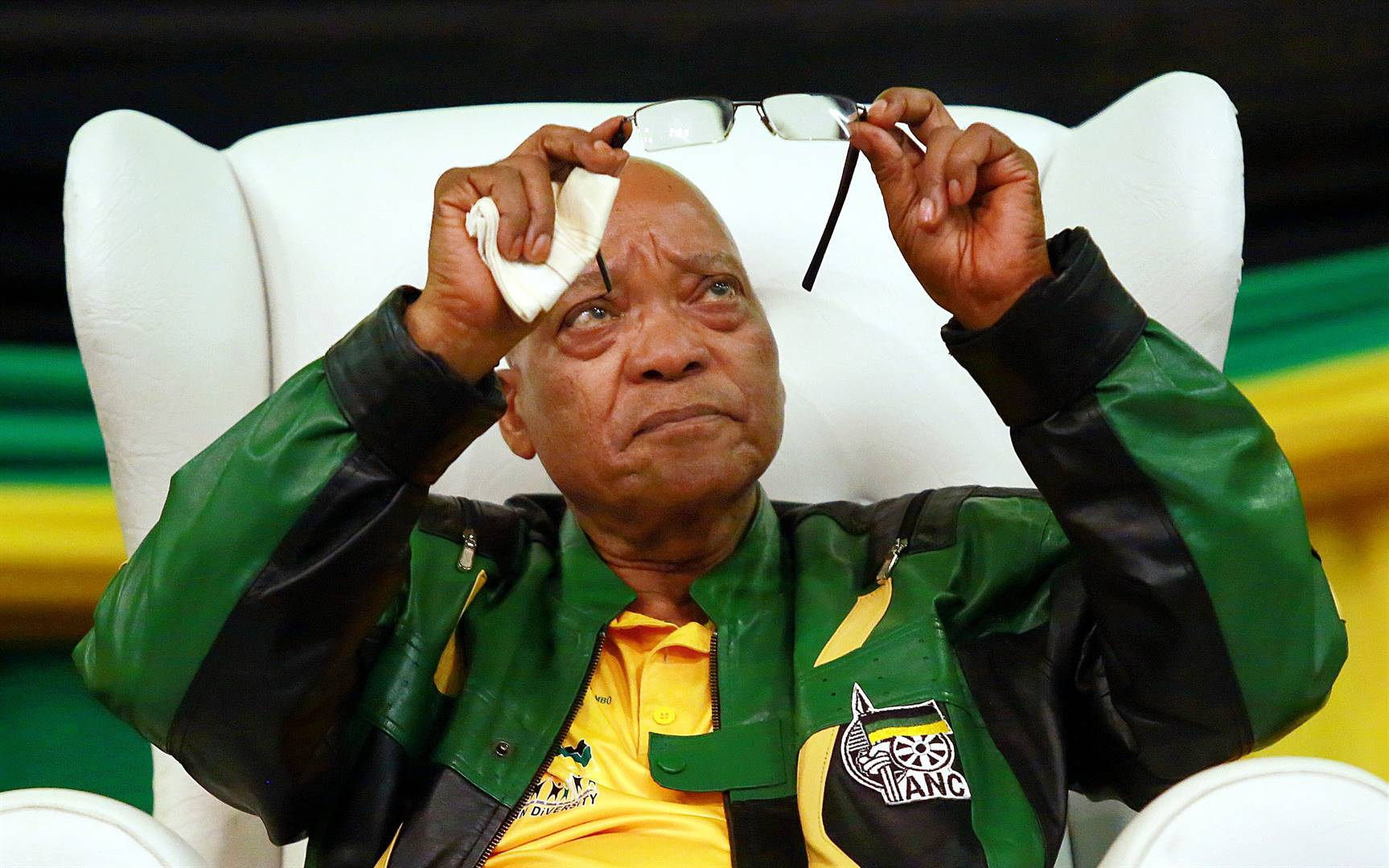 Former president of South Africa and the ANC Jacob Zuma, during an election event in 2014. Photo: Rajesh Jantilal