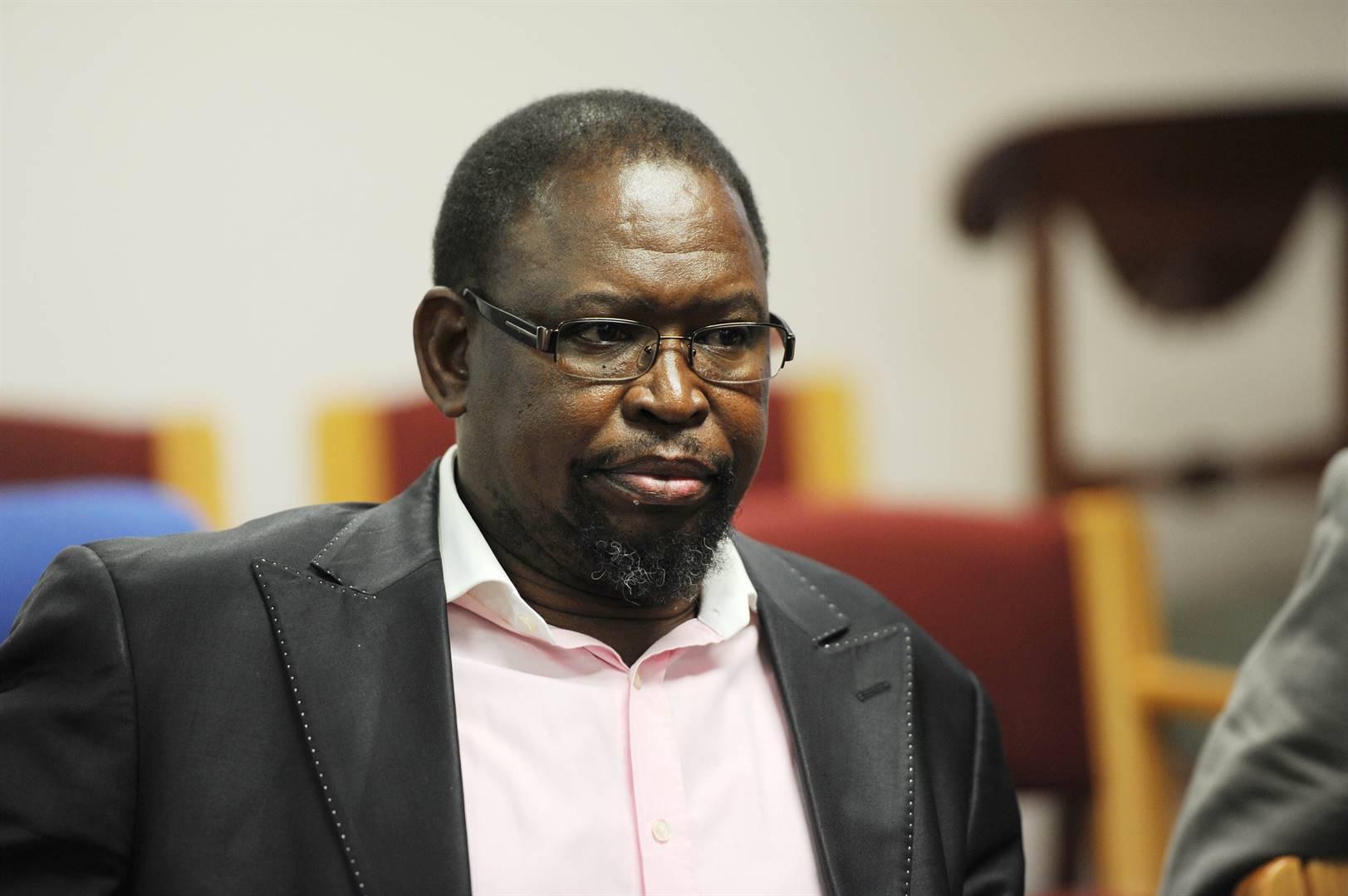 Enoch Godongwana, minister van finansies.