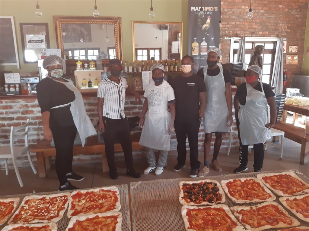 The restaurant said that 18 staff members received R1111.11 each and are more than happy with the kind gesture.