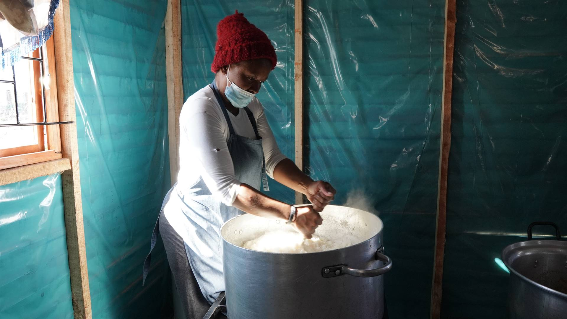 Tamara Mlumbi has called on government to assist people like her who are doing their best to provide food to those in need. Photo: Supplied