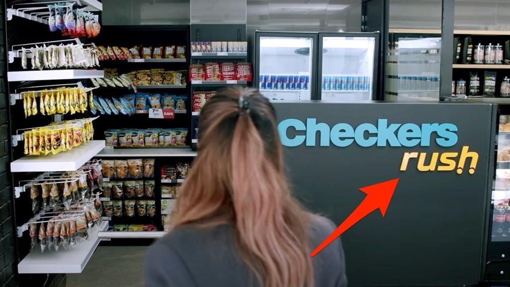 The Checkers Rush concept store.